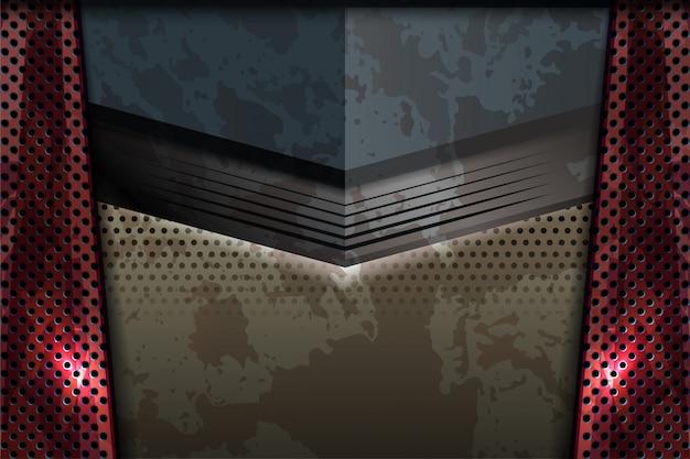 Fondo dell'estratto di struttura della ruggine del metallo