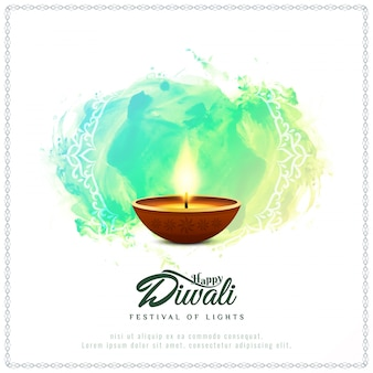 Fondo di diwali felice religioso astratto