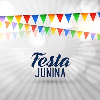 Fondo di junina di festa del festival del brasile