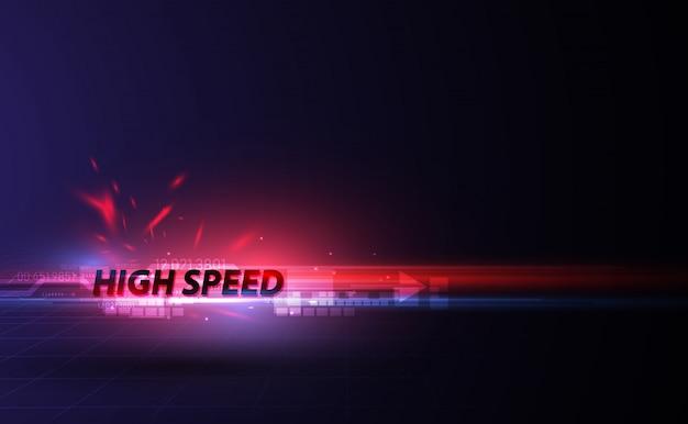 Fondo di progettazione del modello del movimento di velocità