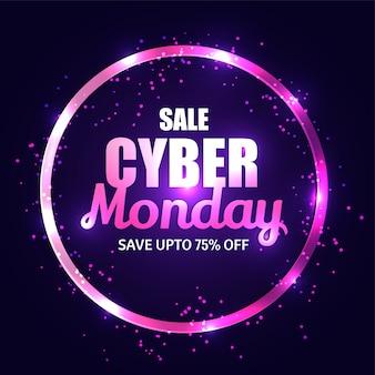 Fondo di vendita di cyber lunedì.
