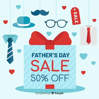 Fondo di vendita di festa del papà