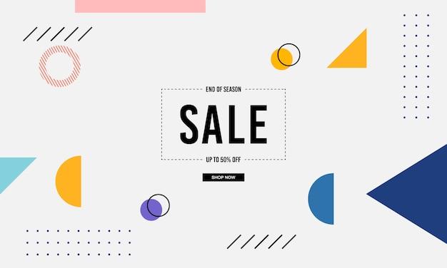 Fondo di vendita di memphis banner