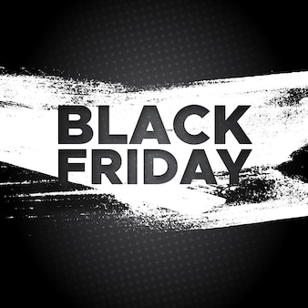 Fondo di vettore dell'insegna di promo di black friday