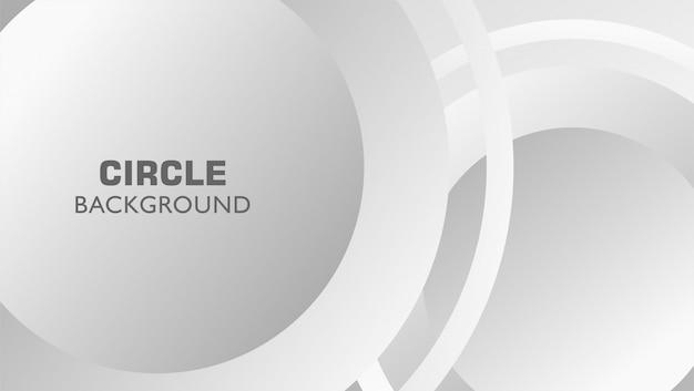 Fondo dinamico dell'estratto del cerchio di gradazione di grigio del metallo