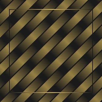 Fondo dorato astratto della carta da parati dell'incorniciatura di spettro di dissolvenza