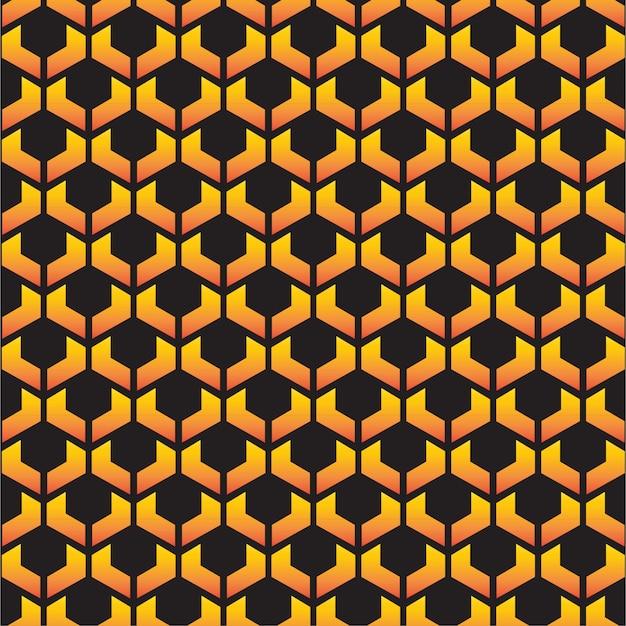 Fondo dorato della reticolo di griglia dorata