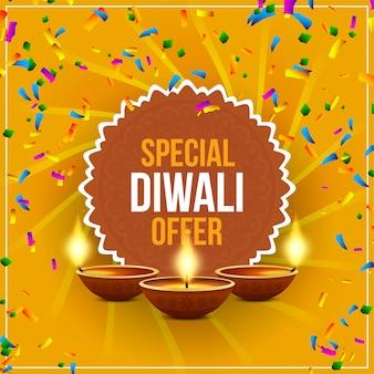 Fondo felice astratto di offerta di vendita di diwali