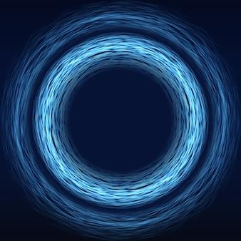 Fondo futuristico di tecnologia della matrice astratta di fantascienza