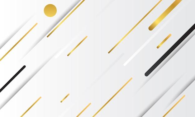 Fondo geometrico astratto di vettore dell'oro