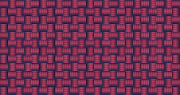 Fondo geometrico blu scuro astratto di forme quadrate