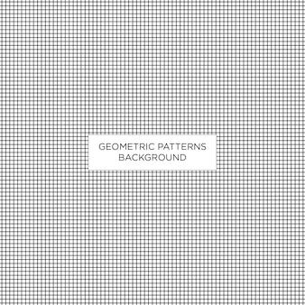 Fondo geometrico del modello quadrato