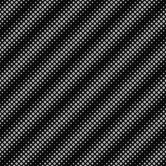 Fondo in bianco e nero senza cuciture del modello dell'anello
