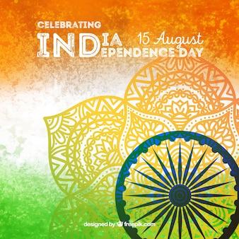 Fondo indiano creativo di festa dell'indipendenza