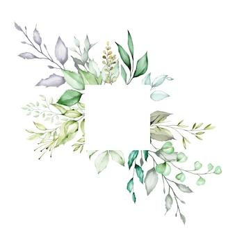 Fondo multiuso di struttura floreale dell'acquerello