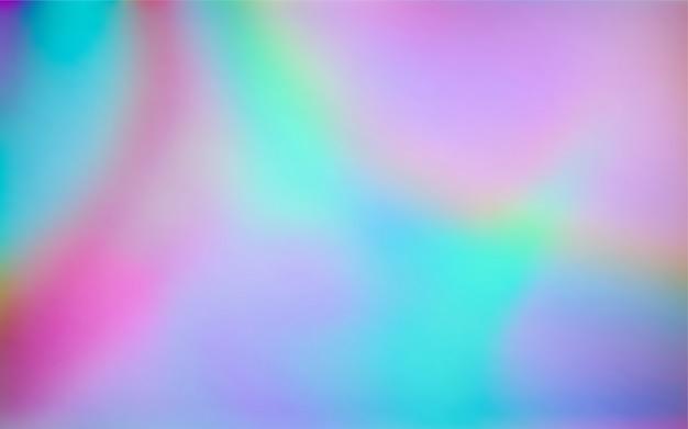Fondo olografico semplice astratto di pendenza di colori