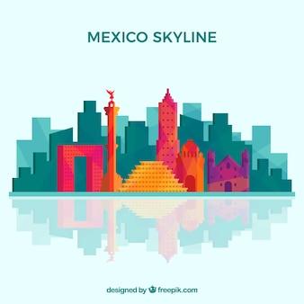Citt del messico skyline 3 scaricare foto gratis for Immagini del piano casa gratis