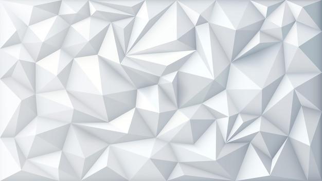 Fondo poligonale del triangolo geometrico poligonale astratto