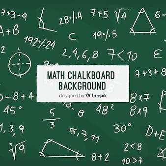 Fondo realistico della lavagna di per la matematica