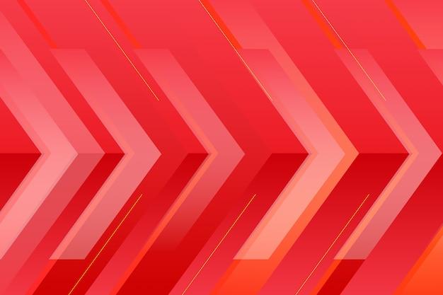 Fondo rosso del fondo vibrante moderno dinamico astratto di struttura delle bande di pendenza