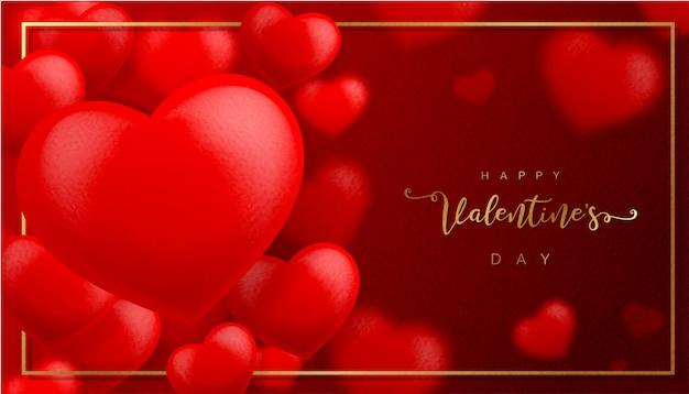 Fondo rosso di struttura di carta di san valentino