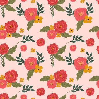 Fondo senza cuciture del fiore floreale