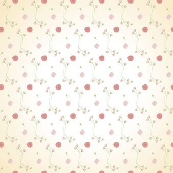 Fondo senza cuciture del modello del mazzo verde rosa-chiaro
