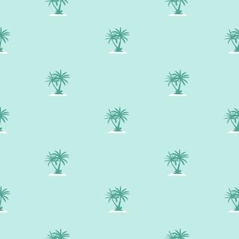Fondo senza cuciture del modello della siluetta della foglia della palma di beautifil