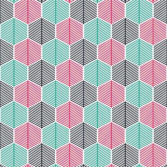 Fondo senza cuciture geometrico colorato