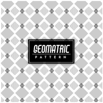 Fondo senza cuciture geometrico in bianco e nero del modello