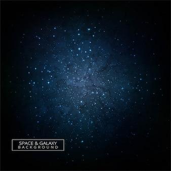 Fondo variopinto di concetto dell'universo della galassia dello spazio profondo