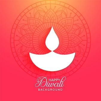 Fondo variopinto di festival felice di diwali religioso