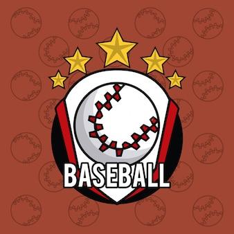 Fondo vibrante della carta dell'attrezzatura delle palle di sport