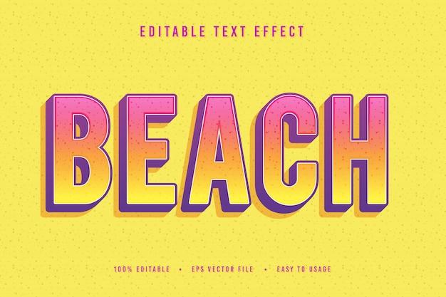 Font spiaggia decorativo