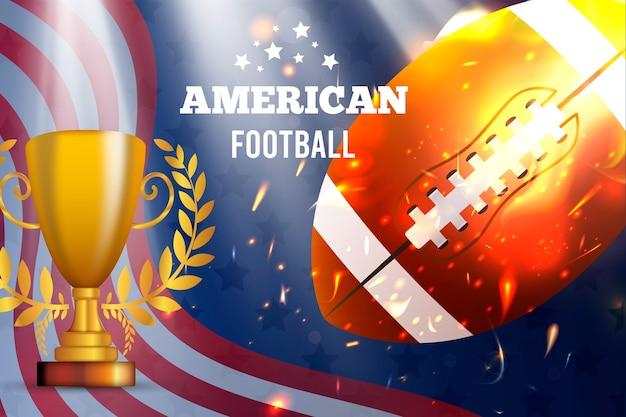 Football americano realistico