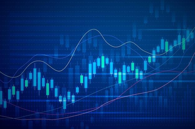 Forex trading sullo sfondo