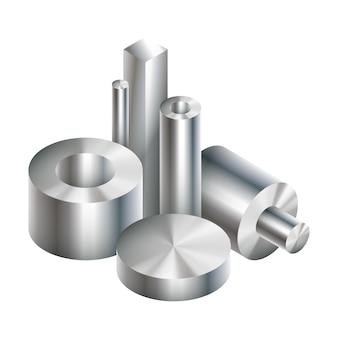 Forgiatura di oggetti metallici in acciaio