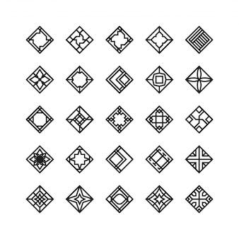 Forma di diamante