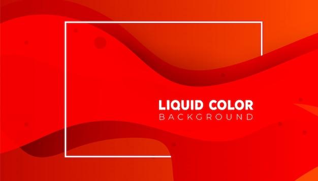 Forme colorate di plastica, sfondo sfumato liquido onde