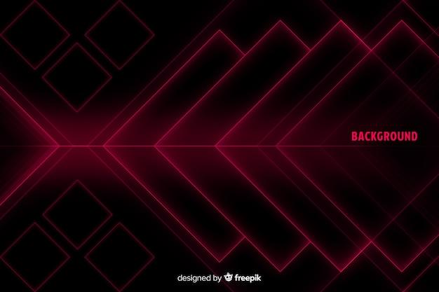 Forme di diamante in tonalità di rosso sullo sfondo