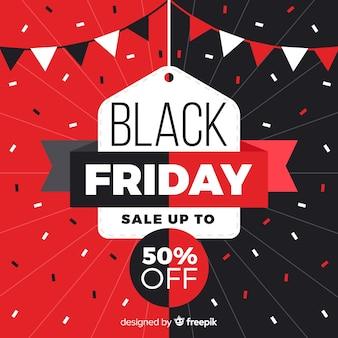 Forme geometriche con vendite venerdì nero