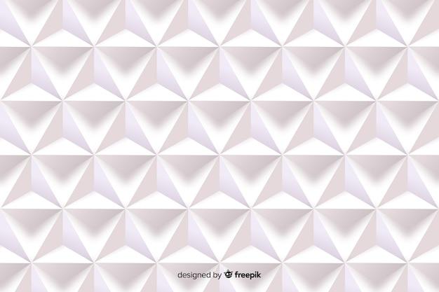 Forme geometriche nel concetto di stile di carta