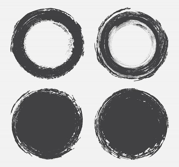 Forme rotonde grunge