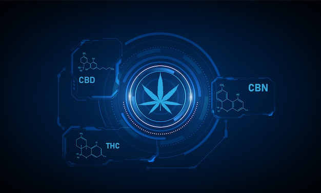 Formula chimica della struttura molecolare