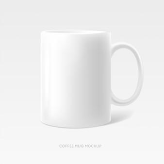 Foto della tazza del tè del caffè realistica