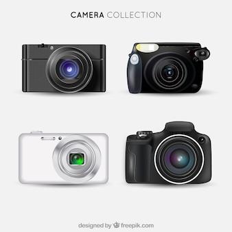 Fotocamera realistica di raccolta