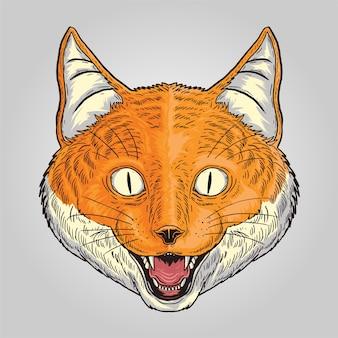 Fox sorridente