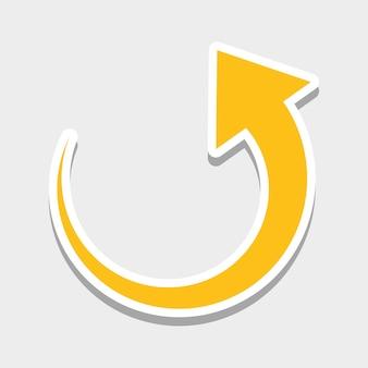Frecce icone grafiche
