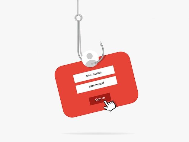 Frodi di phishing di dati online