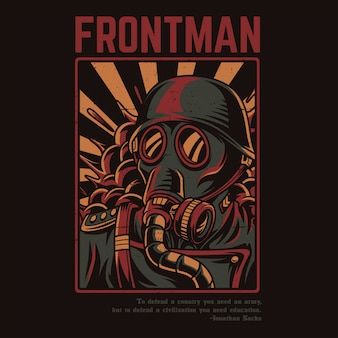 Frontman soldier